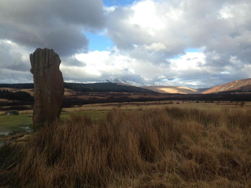 Machrie Moor Stones at Isle of Arran