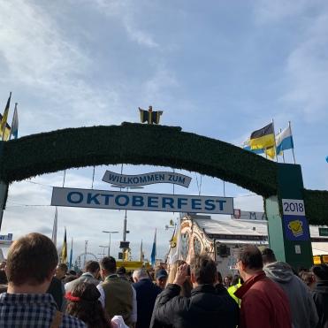 Oktoberfest-welcome